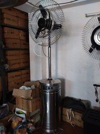 Steel Body Mist Fan
