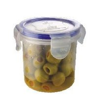 4 Side Lock Plastic Containers - 250 Ml (1002)