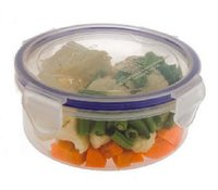 4 Side Lock Plastic Containers - 500 Ml (1075)