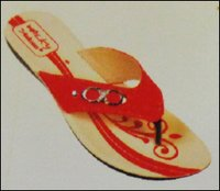Red Ladies PU Slipper (2220)