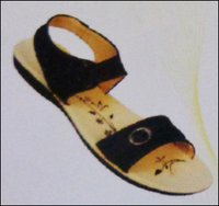 Black Ladies PU Slipper (2218)