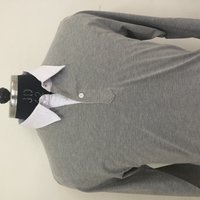 Twill Collar Polo Shirt