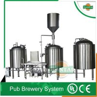 100L to 1000L Beer Brewery System