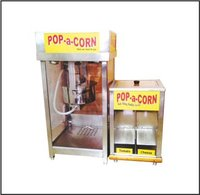 Popcorn Machine With Double Warmer