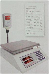 Table Top Billing Printer Weighing Machine P-Series