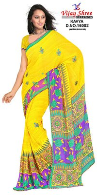 Patch Work Sarees