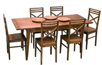 Smart Wooden Dining Table and Chairs (NK-3310)