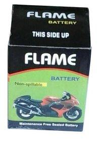 FLAME MOTORCYCLE BATTERY 12V2.5AH