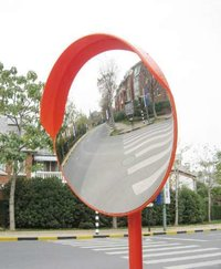 Convex Mirror With Stand