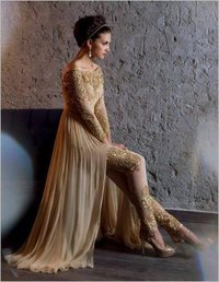 Long Anarkali Dress