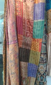 Khadi Kantha Stick Saree