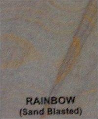 Rainbow Sand Blasted Sand Stones