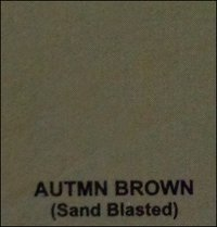 Autmn Brown Sand Blasted Sand Stones