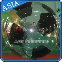 Durable Tizip Zipper Football Shape Water Ball