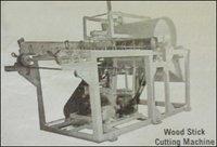 Wood Stick Cutting Machine
