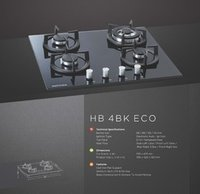 Cooktop 4 Burner Model