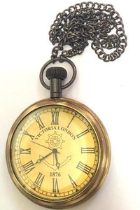 Antique Victorian Pocket Chain Watch