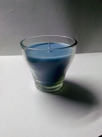 Scented Small Glass Cup Candle