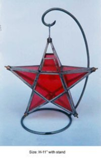 Star Shaped Table Dinner Candle Holder
