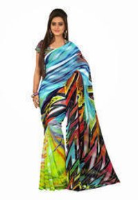 Women Digital Printed Saree