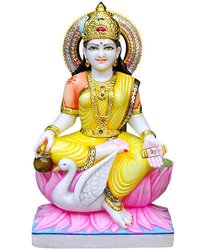 Exquisite Gayatri Maa Statue