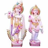 Exquisite Radha Krishna Statue