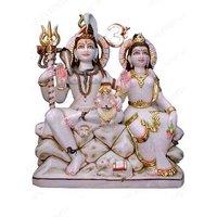 Gori Shankar Marble Statue