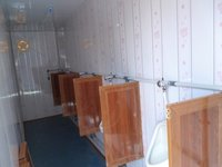 Combined Urinal Cabin