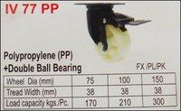 Polypropylene (PP) + Double Ball Bearing
