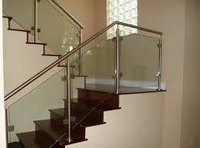 Solid Glass Railing