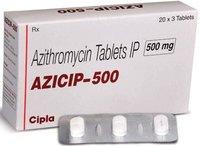 Azip 500 (Azithromycin Tablets IP)