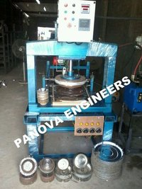 Multi Purpose Fully Automatic Hydraulic Paper Plate Machine Double Die