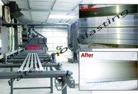 Aluminium Profile Sand Blasting Machine