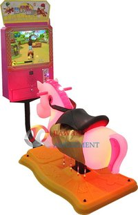 Coin Operated Swing Kiddie Rides Rocking with 17