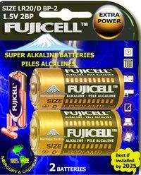 Long Lasting Super Alkaline Batteries