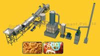 Fully Automatic Pellet Frying Machine