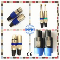 Speakon Connector Male To XLR 3 Pin Female
