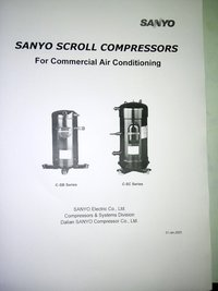 Sanyo Scroll Compressor