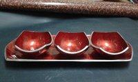 Aluminum Dry Fruit Platters
