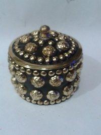 Brass Kum Kum Boxes