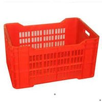Red Plastic Fruits Crates