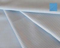 Antistatic Fabrics Check And Grid Design