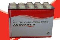 Acecart – P (Aceclofenac 100Mg + Paracetamol 500Mg Tablets)