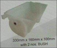 Plastic Elevator Bucket with 2 nos. Bush (Food Grade)