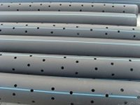 PVC Perforated Pipes for Canal Lining