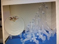 Plastic Plate Stands