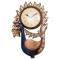Wooden Carved Clock