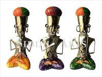 Metal Musician Sculptures