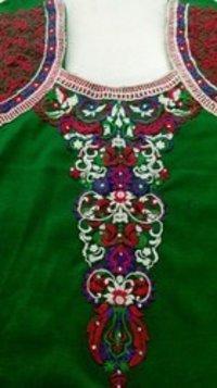 Jacket Style Woolen Kurti