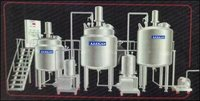 Automatic Oral Liquid Process Plant With Top Entry Stirrer